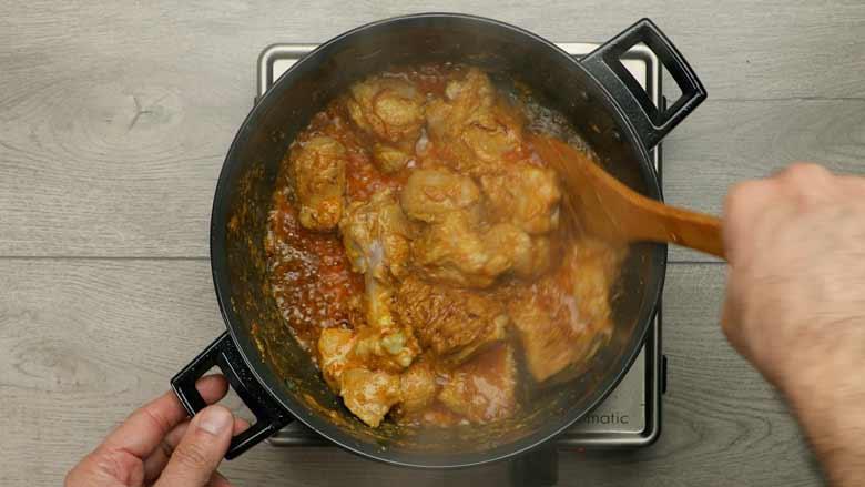 Indian Chicken Korma - The Wanderlust Kitchen