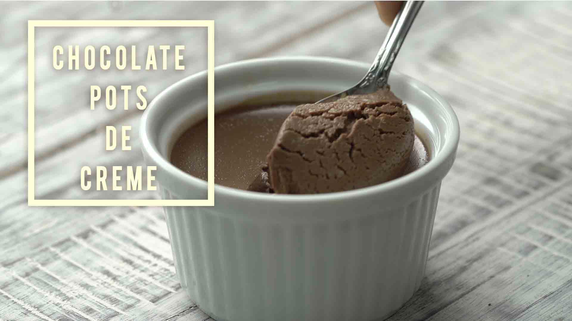 Insanely Good Chocolate Pots de Creme | Yummefy | Videos ...