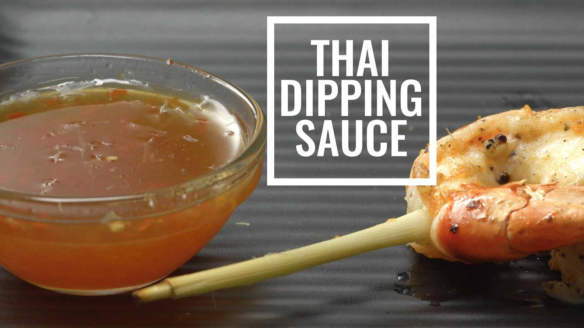 Spicy and Sweet Thai Dipping Sauce