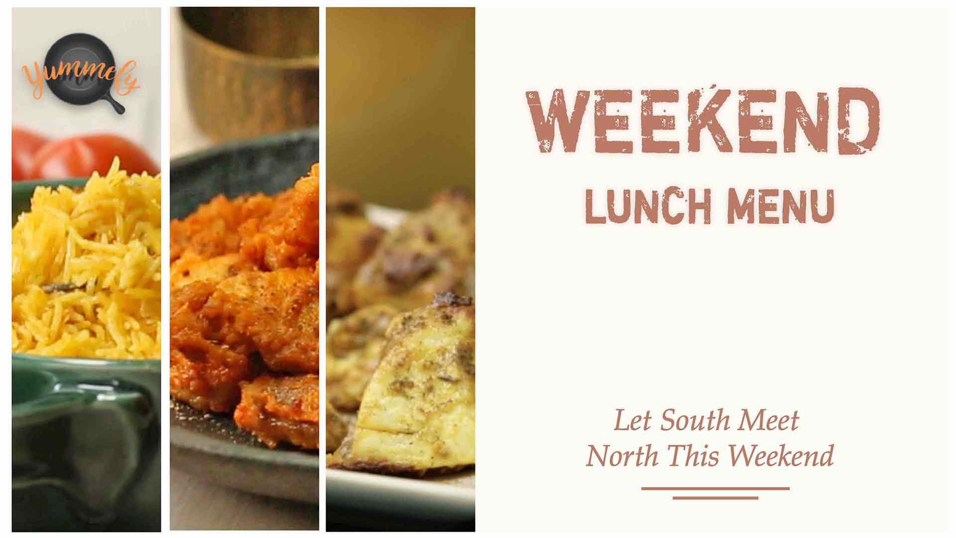 Weekend Lunch Menu | North Meets South