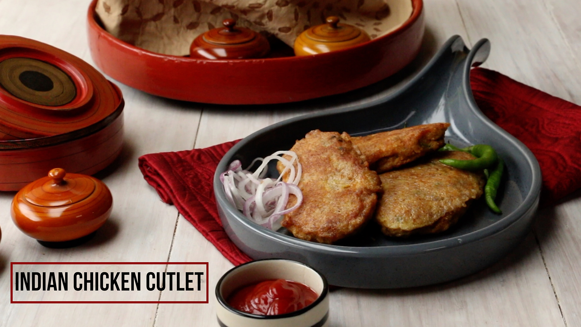 Indian Chicken Cutlet Recipe | How to make Easy Cutlets at Home