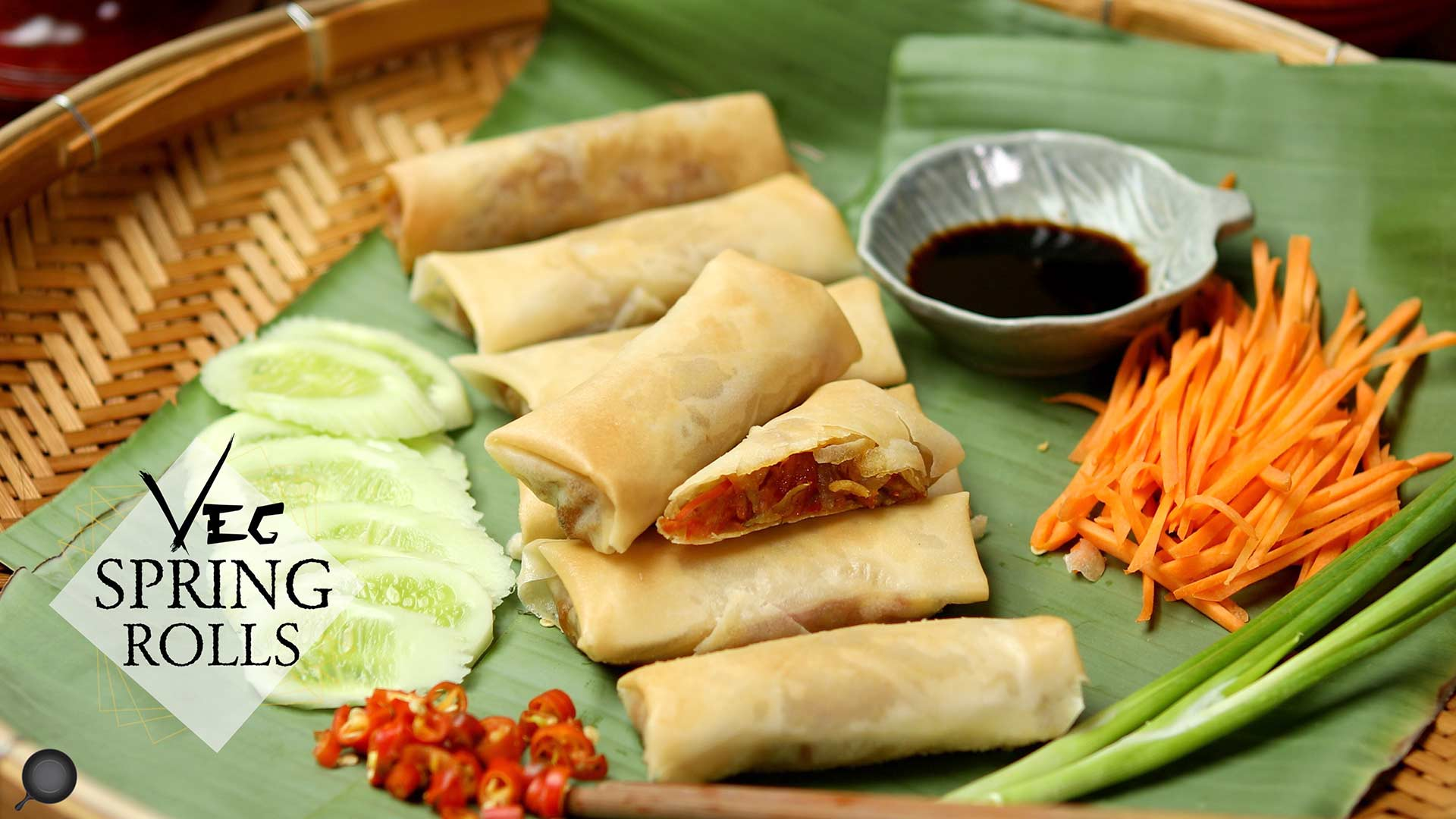 Veg Spring Rolls Recipe | How to Make The Best Vegetable Spring Rolls