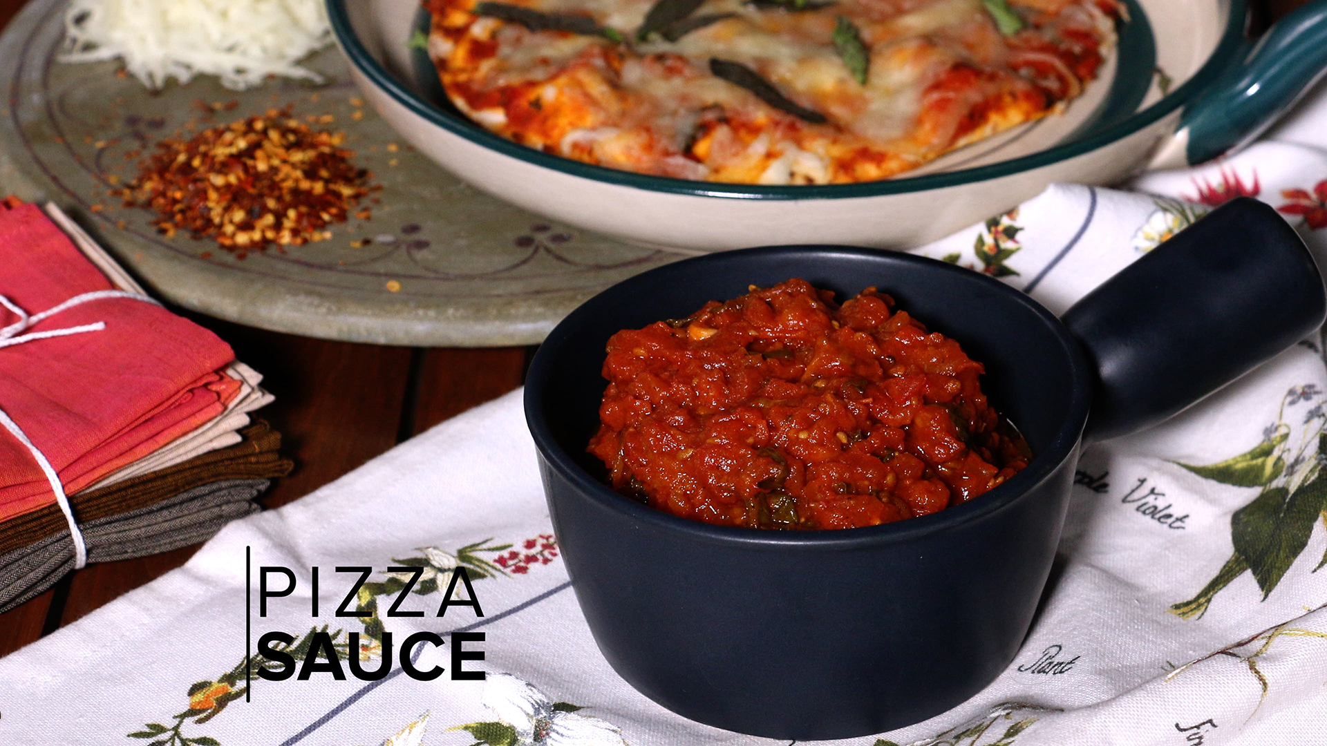 Pizza Sauce Recipe | How to Make Pizza Sauce