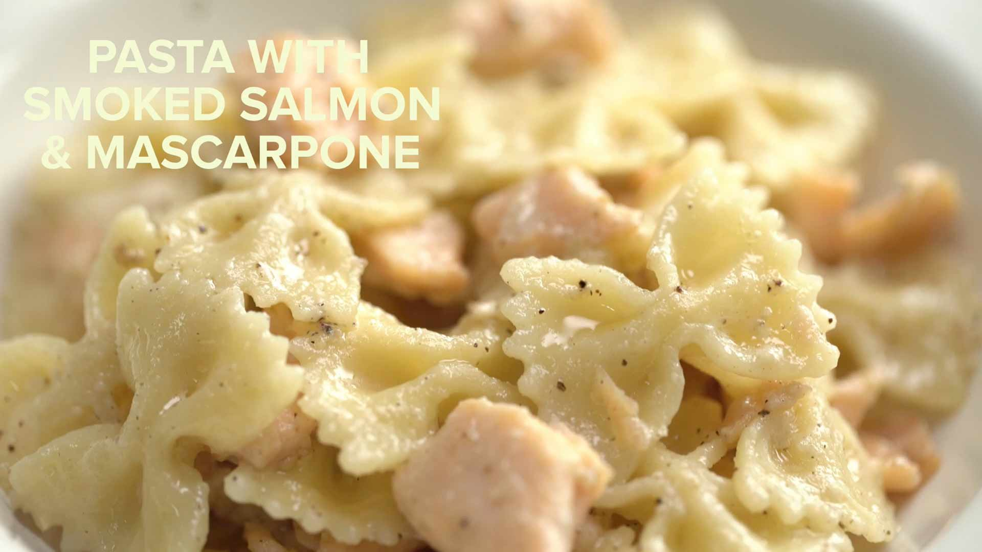 Creamy Pasta with Smoked Salmon and Mascarpone Recipe | Easy Gourmet Pasta in 15 Minutes