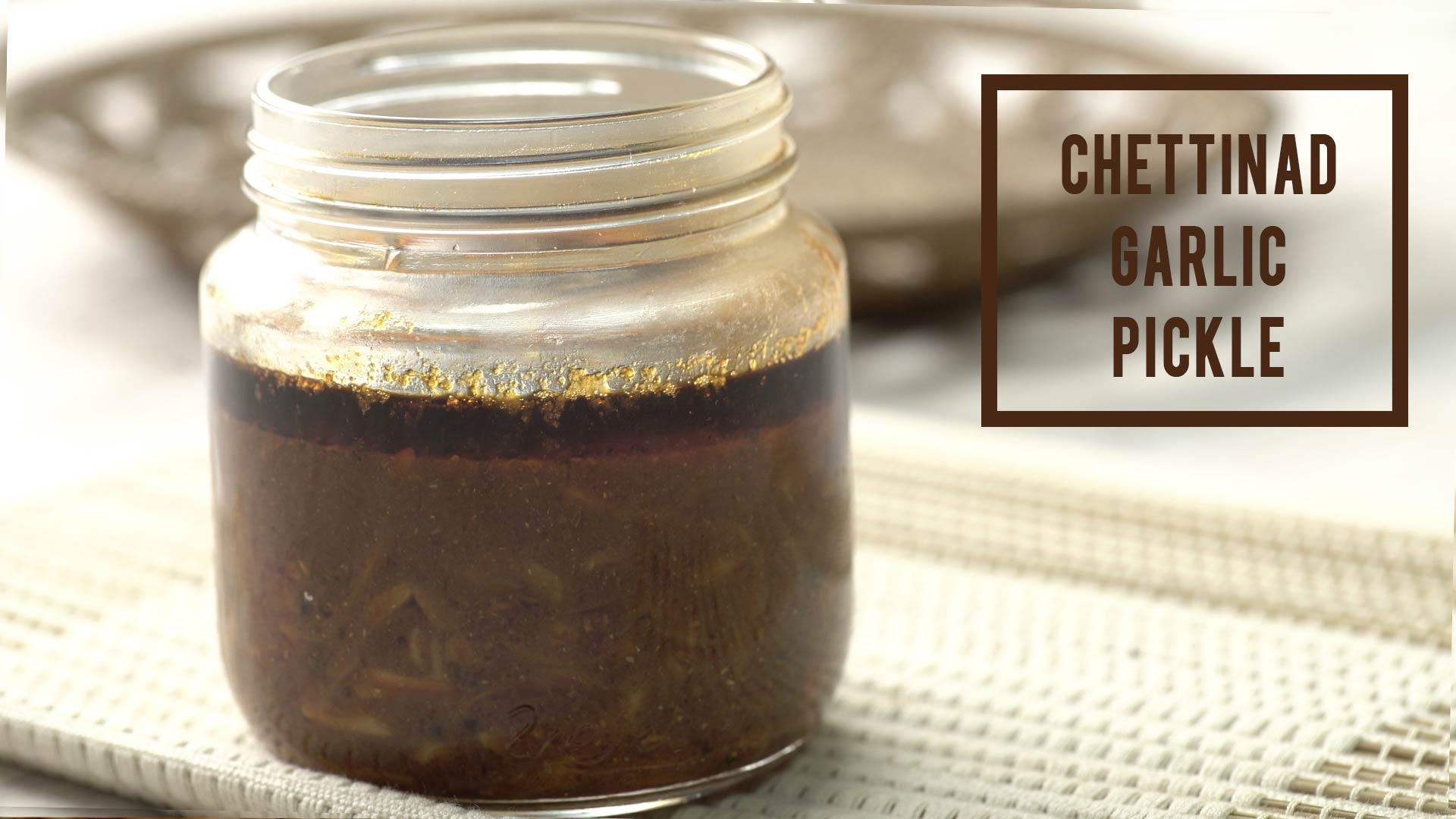 The Best Chettinad Garlic Pickle | Family Recipe