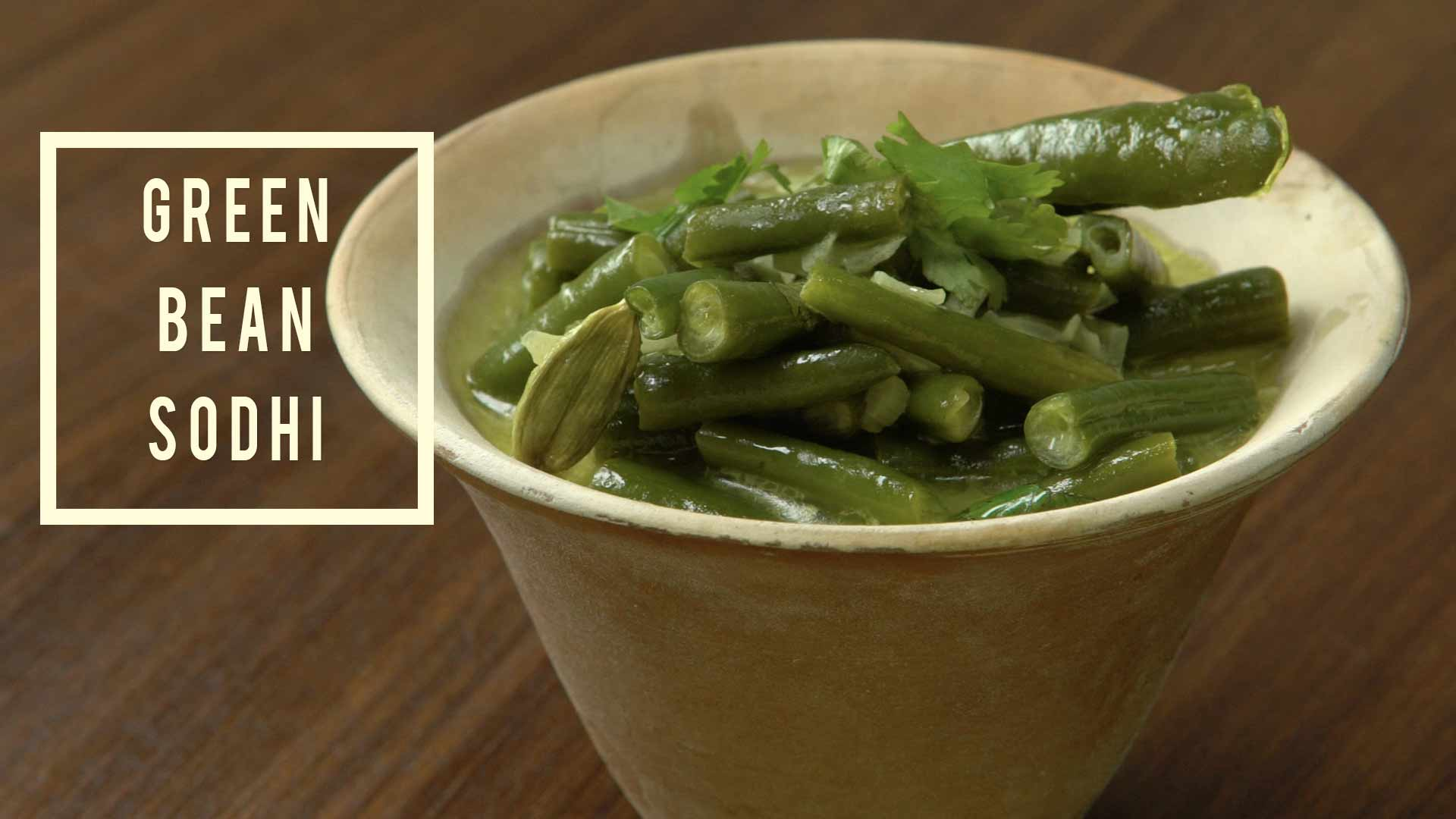 Easy Green Bean Sodhi | A Flavorsome Vegetarian Recipe inspired by Sri Lanka