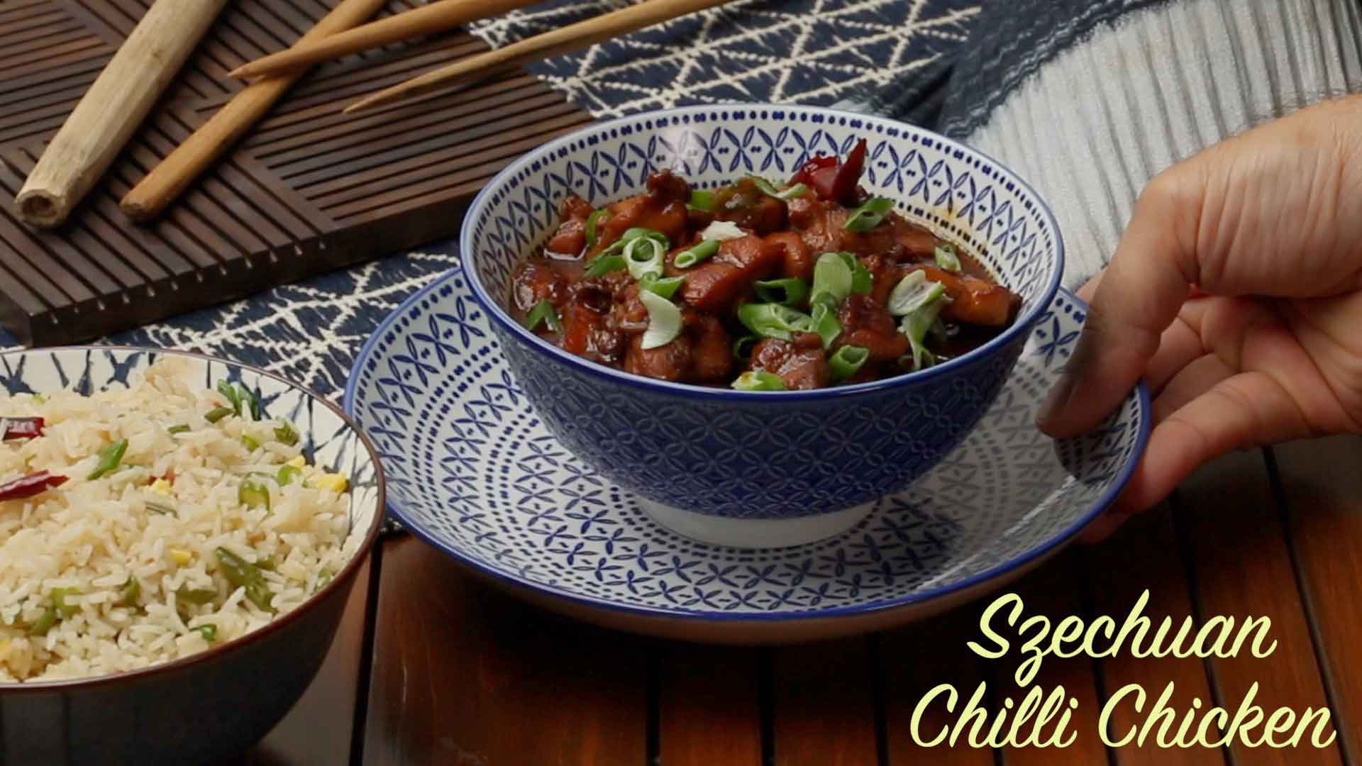 Chilli Chicken Szechuan Style Recipe | How To Make Chilli Chicken at Home