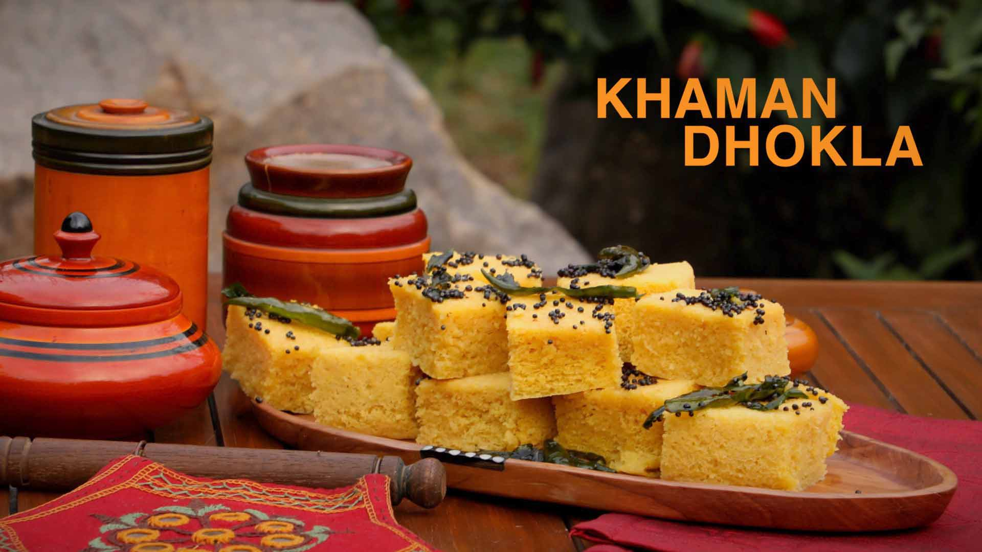 Khaman Dhokla Recipe | How To Make Instant Gujarati Dhokla