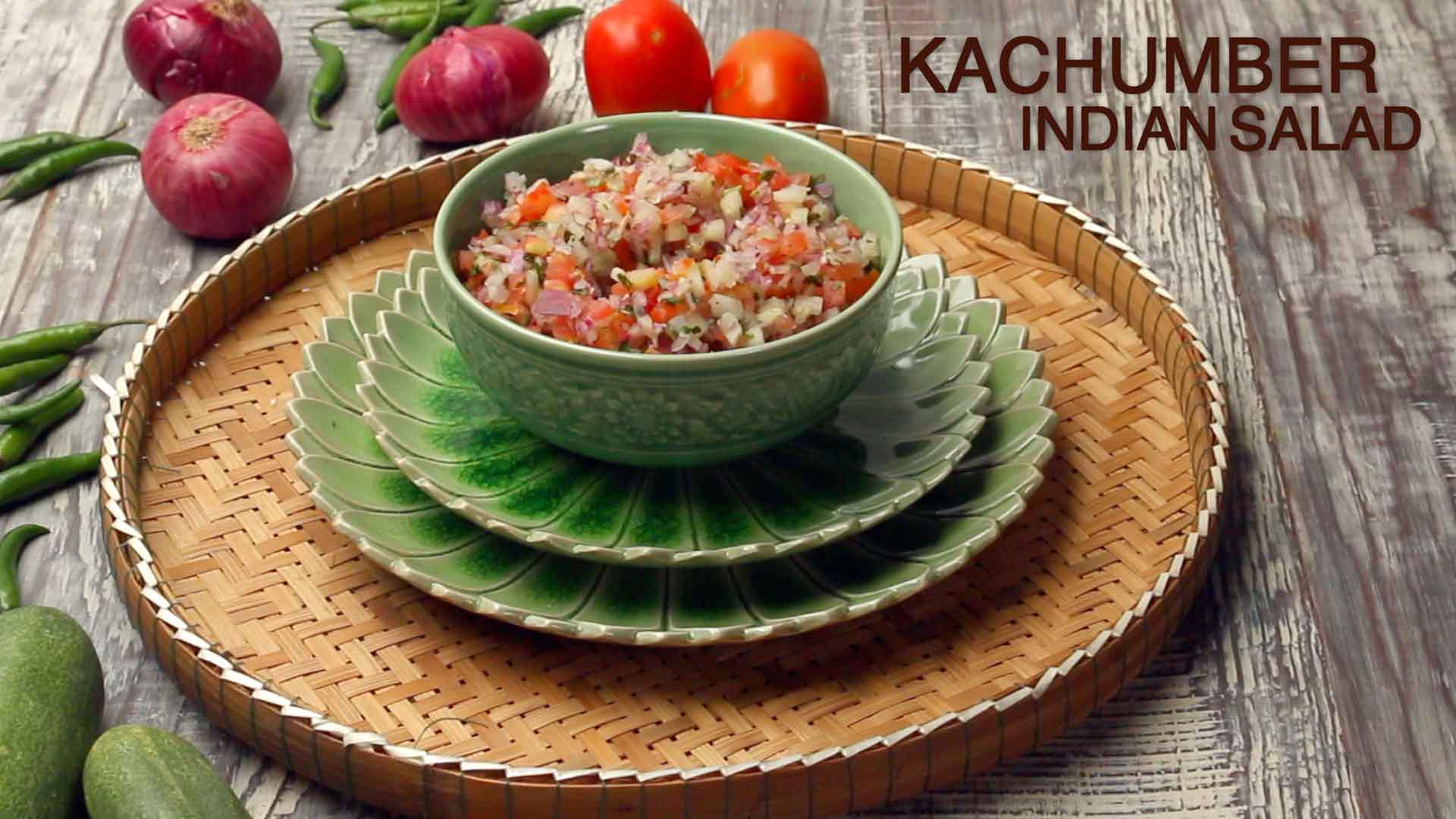 Kachumber Recipe | How to make easy Indian Kachumber salad