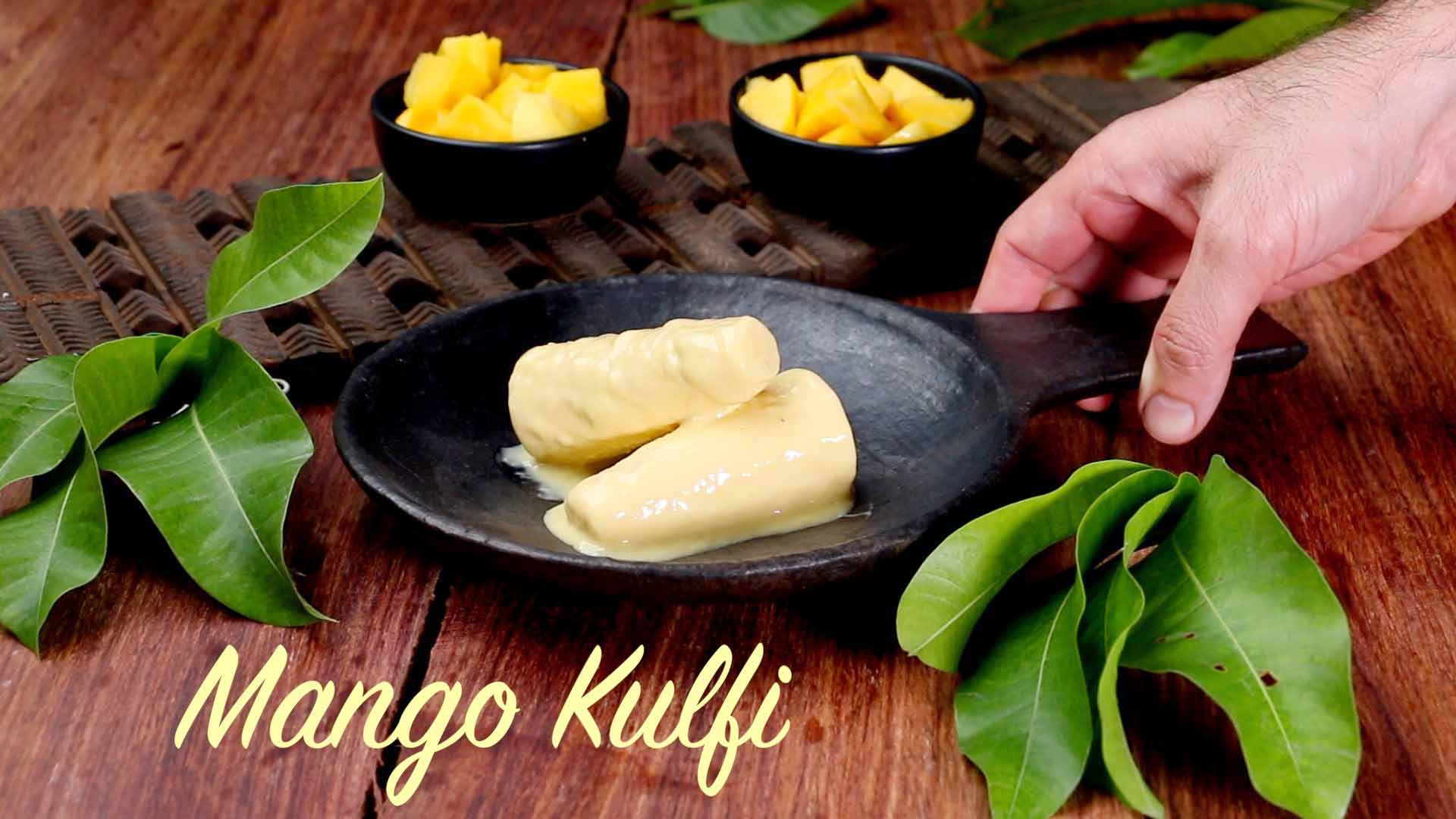 Mango Kulfi Recipe | Easy Homemade Kulfi with just 4 Ingredients