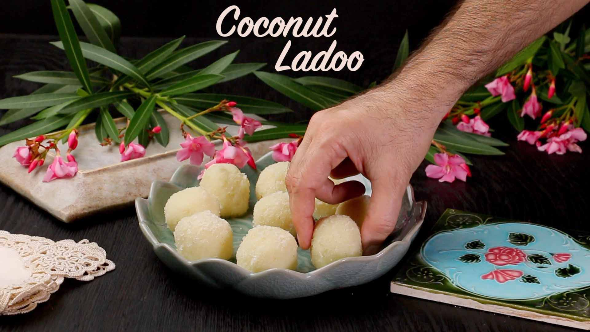 Coconut Ladoo Recipe | Easy Nariyal ka Ladoo at Home