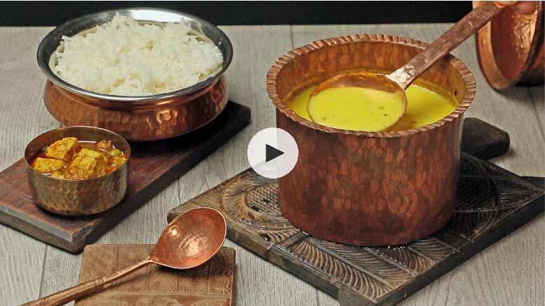 Besan Kadhi Recipe