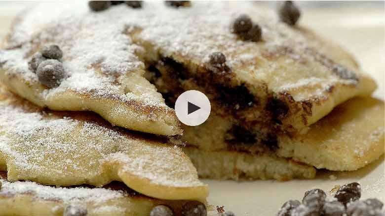 Choco Chip Pancakes Recipe