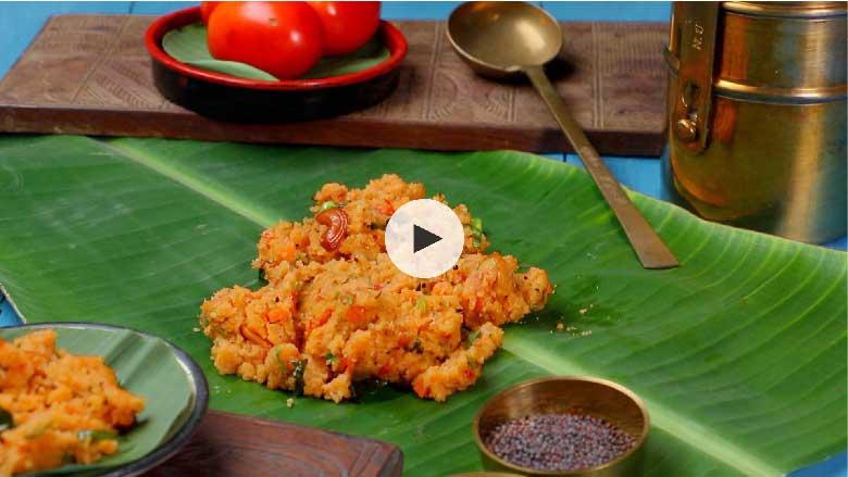 Tomato Rava Bath Recipe