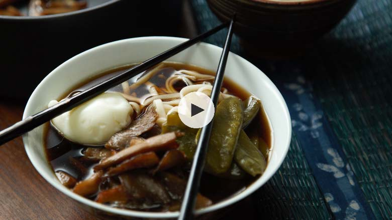 Noodle Soup with Egg Recipe