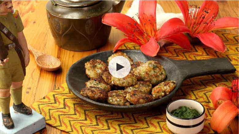 Sabudana Tikki Recipes