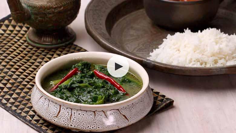 Kashmiri Haak Recipe
