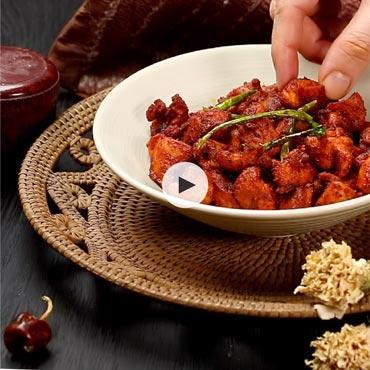Kerala Chicken Fry Recipe