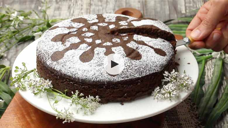 chocolate cake without oven Recipe